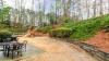 Large, level backyard